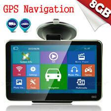 HOT 5 INCH CAR TRUCK GPS SAT NAV NAVIGATION SYSTEM 8GB UK EU FREE MAPS UK