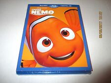 Disney Finding Nemo (Blu-ray and Digital Hd) New With Slipcover