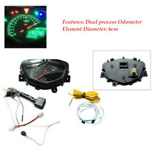 1 x Seven Color Motorcycle Modified LCD Meter Odometer Tachometer Dual-process