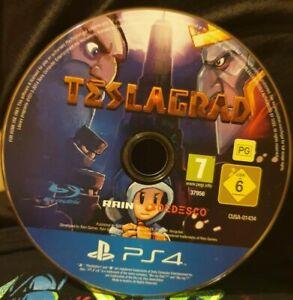 Teslagrad Sony Playstation 4 PS4 7+ Adventure Platform Game disk only