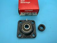 Fafnir VCJ 5/8 Flange-Mount Ball Bearing Unit - 4-Bolt Flange, 0.6250 in Bore