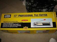 "Tool Shop 17"" Professional Tile Cutter"