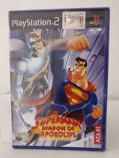 SUPERMAN SHADOW OF APOKOLIPS  PS2  NUOVO SIGILLATO ITALIANO  PLAYSTATION 2 RARO