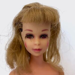 Vintage 1960s Blonde FRANCIE Doll Rooted Eye lashes Mattel 1965 Made in Japan