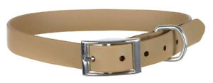 Trixie Dog Taupe Easy Life Collar PVC coating resilient & durable easy to Clean