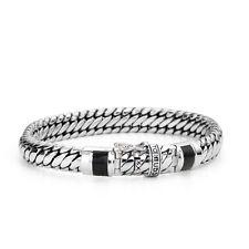 Buddha to Buddha Armband Ben Black J070BL D Onyx 18cm Silber 925 Bracelet
