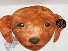Goldendoodle Dog Pillow Plush Novelty Puppy Animal Lover Expressions