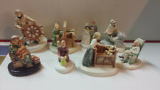 Lot of 8 Rare Sebastian Hudson Massachusetts Miniatures Figurines