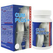 Cum Plus + for men Increase Sperm Production Volumizer him Cobeco 30 capsules