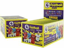 2019/20 English premier league soccer stickers  sealed box 50 packet box