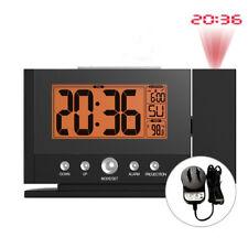 Baldr Projection Alarm Clock Digital LED Snooze Color Display Backlight +AU Plug