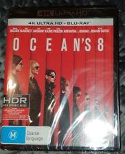 Ocean's 8 4K (Blu-ray, 2018, 2-Disc Set) Brand New & Sealed