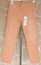 Jeans orange neuf taille 40 marque CLOSED pedal position étiqueté à 219€