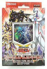 "Yu-Gi-Oh ARC-V ""Hero's Strike"" Structure Deck / Korean"