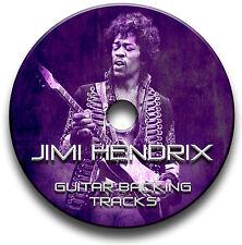 JIMI HENDRIX ROCK STYLE MP3 GUITAR BACKING TRACKS COLLECTION JAM TRACKS CD