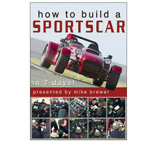 HOW TO BUILD A SPORTSCAR IN 7 Days DVD - Westfield Megabusa Kit Car - Duke - New