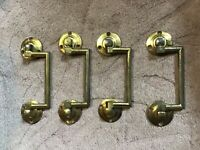Victorian cast  Brass-handles  DRAWERS Handles. X 4 old reclaimed