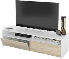 Mobile TV sala da pranzo salotto soggiorno base televisione madia bianco rovere