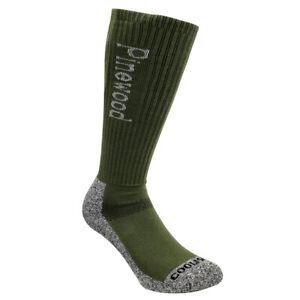 Pinewood Coolmax Socken High 2er Pack grün Strümpfe Schuhe Stiefel Outdoor oliv