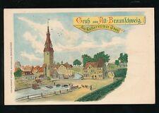 Germany Gruss aus ALT-BRAUNSCHWEIG c1902 u/b PPC