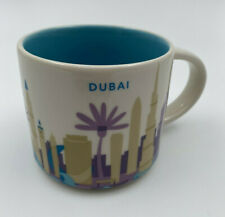 Starbucks You Are Here Collection Ceramic Coffee Mug Dubai 14 floz 2015
