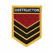 Kampfsport Bestickt Abzeichen - Instructor Shield Gi Flicken Abzeichen Uniform