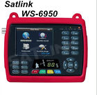 "SATLINK WS-6950 DVB-S FTA Satellite Finder Digital Satellite Meter 3.5"" LCD QPSK"