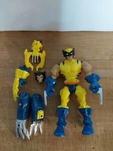 Marvel Super Hero Mashers Wolverine Figure Loose