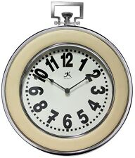 *NEW* PREMIUM Wall Clock - Classic Pocket Watch Styling Steel Case - SHIPS FREE!