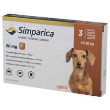 Simparica 20mg X 3 Tablets Flea Treatment For Dogs