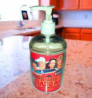 Dukes Of Hazzard Soap / Hand Sani. Refillable Dispenser Not just a label!