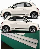 Fiat 500 Sport Seiten Streifen Grafik Aufkleber Pop 500e 500c 1.2 1.3