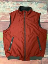 Chaps Mens Red Vest Size Medium