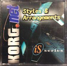 Korg Styles & Arrangements Floppy Disk iS40/50 -Big Band