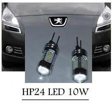2 AMPOULE HP24 A LED SAMSUNG 2323 10W PEUGEOT 3008 5008 CITROEN C5 TRES PUISSANT