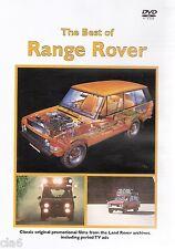 Best of RANGE ROVER CLASSIC DVD - 1969-1985 - NEW