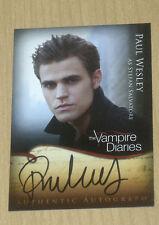 2012 Crypt Vampire Diaries Season 1 autograph Paul Wesley as Stefan Salvatore A2