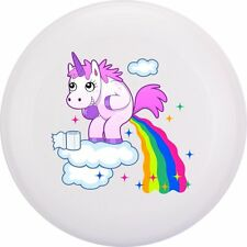 NG - Eurodisc 175g 4.0 Ultimate BIO-Kunststoff Frisbee Unicorn Clouds WEISS