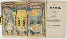 The Art of Making Fireworks, Improved to the Modern Practice. Derby, [1818].