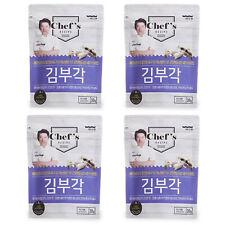 BADAone Dried Seaweed Laver Chips 30g X 4 Pack Sea Food Tasty Fried Crisp Snack
