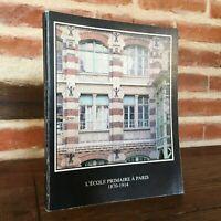 Scuola Primario Con Parigi 1870-1914 Delegazione Azione Arte Della Città 1985