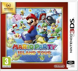 MARIO PARTY ISLAND TOUR NINTENDO SELECTS - 3DS