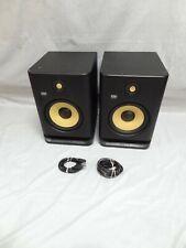 """Pair Of Krk Systems Rokit8 Ampk00170 Powered 8"""" Studio Monitor Speakers - Black"""