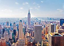 Puzzle new york-manhattan, 2000 piezas, américa, rascacielos, Clementoni
