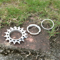 Fouriers 3/32 1/8 Fixie Fixed Gear Cog Track Bike Single Speed Sporcket Lockring