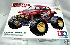 TAMIYA # 58618  1:10 RC Monster Beetle 2015  with TBLE-02S  ESC  NEW IN BOX