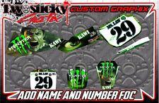 KAWASAKI KX 60 Motocross MX Gráficos Pegatinas todos los años