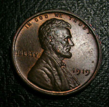OLD US COINS 1919 UNC CHOICE  Lincoln Wheat Cent Penny