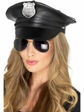 Ladies Special Cop Officer Stag Night Fancy Dress Costume Accessory DELUXE HAT