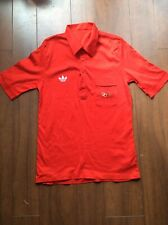 ADIDAS 1988 SEOUL OLYMPICS RED SHIRT - GB ATHLETE ISSUE